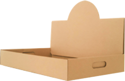 Kraft Pop-Up Catering Tray (No Printing)